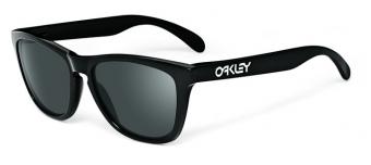 Oakley Frogskins Polished Black w/Grey