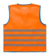 WoWow Fun Jacket heijastinliiv oranssi
