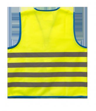 WoWow Fun Jacket heijastinliiv keltainen