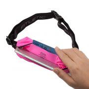 Fitletic juoksuvyö joustavalla materiaalilla MSB01 Pinkki kotelo