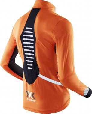 X-Bionic Spherewind Light miesten talvijuoksutakki Oranss