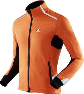 X-Bionic Spherewind Light miesten talvijuoksutakki Oranssi