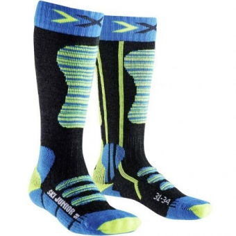 X-Socks Ski Junior 4.0 lasten laskettelusukat