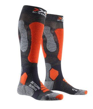 X-Socks Ski Touring Silver 4.0 laskettelusukat