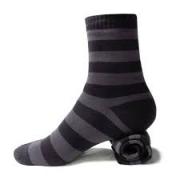DexShell Ultralite Bamboo vedenpitävät ja saumattomat sukat harmaa